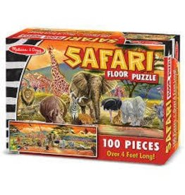 Melissa and Doug Melissa and Doug Safari 100 Piece Floor Puzzle