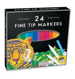 Continuum Games Mindware Fine Tip Markers 24 ct