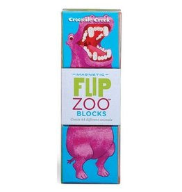 Crocodile Creek Crocodile Creek Flip Zoo Blocks World Animals