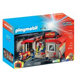 Playmobil Playmobil City Action Take Along Fire Station