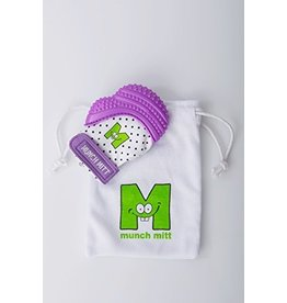 Malarkey Kids Munch Mitt Purple Shimmer