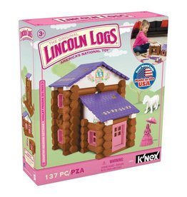 Knex Lincoln Logs Country Meadow Cottage