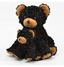 Unipak Coco Black Bear with baby 13 inch