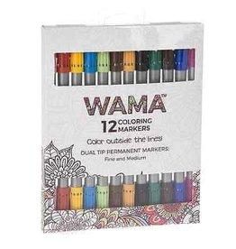Ganz Wama Coloring Pencils 12 Piece Set