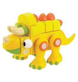 Velcro Blocks Velcro Blocks Triceratops