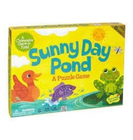 Peaceable Kingdom Peaceable Kingdom Sunny Day Pond Puzzle Game