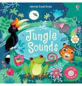 Educational Development Corporation Usborne Press A Sound Book Jungle Sounds