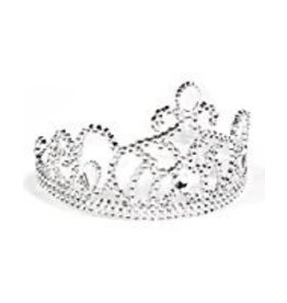 Halloween Silver Tiara with Colored Stones