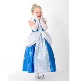 Little Adventures Little Adventures Satin Cinderella Dress Up Blue Size X-Large