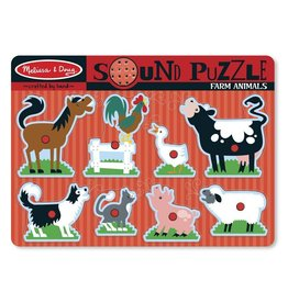 Melissa and Doug Melissa and Doug Farm Animals Sound Puzzle