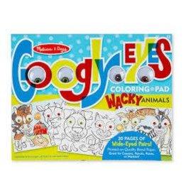 Melissa and Doug Melissa and Doug Goofy Animals Googly Eyes Coloring Pad