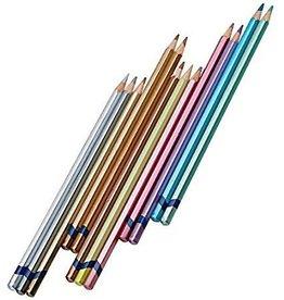 C2F Inc Color Pencils Metallic