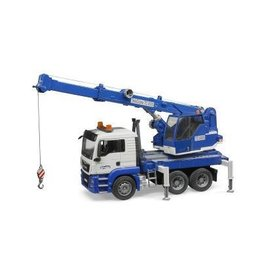 Bruder Bruder MAN TGS Crane Truck w Light and Sound