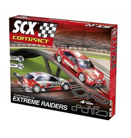 John Hansen SCX Compact Extreme Raiders Slot Car Set