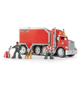 Tomy Gear Force Horse Power Freight liner with Trailer