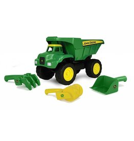 Tomy Tomy 15 Inch Big Scoop Dump truck with Sand Tools