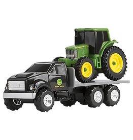 Tomy 1 64 Truck With John Deere Tractor
