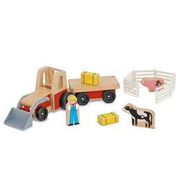 Melissa and Doug Melissa and Doug Wood Farm Tractor