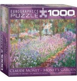 Eurographics Eurographics Monets Garden Claude Monet 1000 Piece Puzzle
