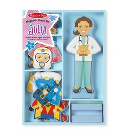 Melissa and Doug Melissa and Doug Julia Magnetic Dress Up Set