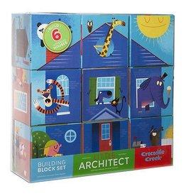 Crocodile Creek Little Architect Building Block Set Boy