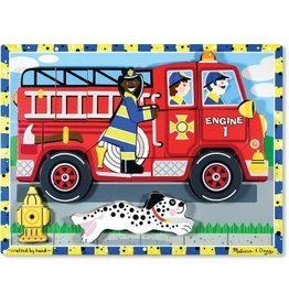 Melissa and Doug DNR Melissa and Doug Fire Truck Chunky Puzzle