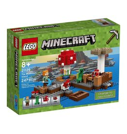 Lego Lego 21129 Minecraft The Mushroom Island V39
