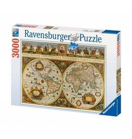Ravensburger Ravensburger 3000 Piece Puzzle Antique Map
