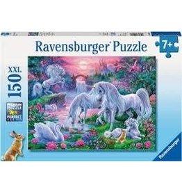 Ravensburger Ravensburger 150 Piece Puzzle Unicorns in the Sunset Glow