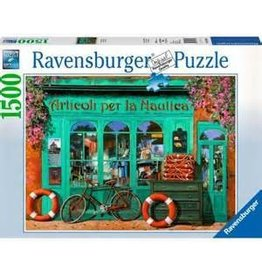 Ravensburger Ravensburger 1500 Piece Puzzle The Red Bicycle