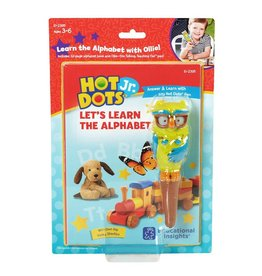 Educational Insights Eduactional Insights Hot Dots Jr  Lets Learn the Alphabet