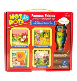 Educational Insights Eduactional Insights Hot Dots Jr  Famous Fables