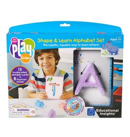 Educational Insights Playfoam Shape and Learn Alphabet Set