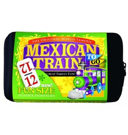 University Games Mexican Train To Go Blister Pack