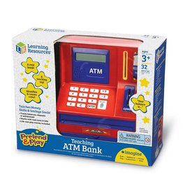 Learning Resources Learning Resources Pretend and Play Teaching ATM  Bank