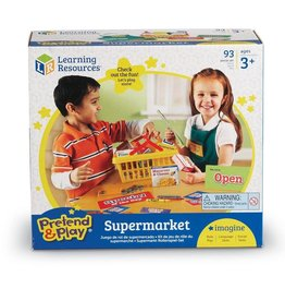 Learning Resources Learning Resources Pretend and Play Supermarket Set