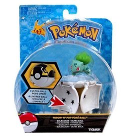 Tomy Pokemon Throw n Pop Poke Ball Asst