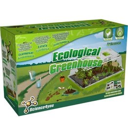Ksm Science 4 You Ecological Greenhouse Make 14 experiments 8 and up