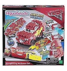 Epoch Everlasting Play DNR Aquabeads Cars 3 3D Lightning McQueen Set