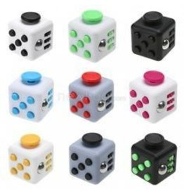 Quality Innovations Inc Fidget Cube Assorted Colors to Choose From