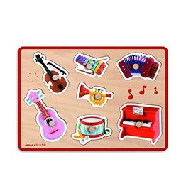 Jura Toys Janod Sound Puzzle Muiscal Instruments