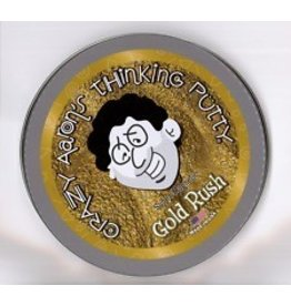 Crazy Aarons Puttyworld Crazy Aarons Gold Rush Magnetic 4 Inch Tin