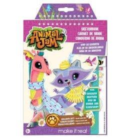 Make It Real LLC Make It Real Animal Jam Sketchbook Large