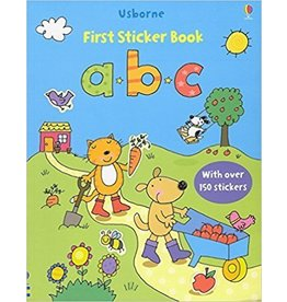 Educational Development Corporation DNR Usborne ABC First Sticker Book