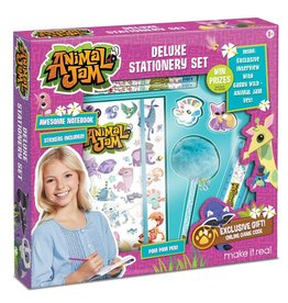 Make It Real LLC Make It Real Animal Jam Stationery Set