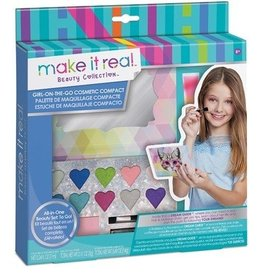 Make It Real LLC Make It Real Girl on the Go Cosmetic Compact