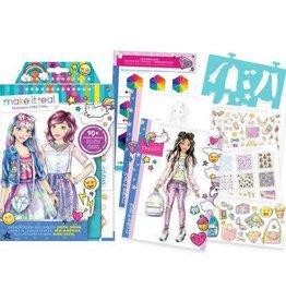 Make It Real LLC Make It Real Fashion Design Sketchbook Digital Dream