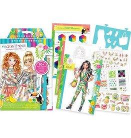 Make It Real LLC Make It Real Fashion Design Sketchbook Graphic Jungle