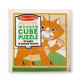 Melissa and Doug Melissa and Doug Animals My First Cube Puzzle