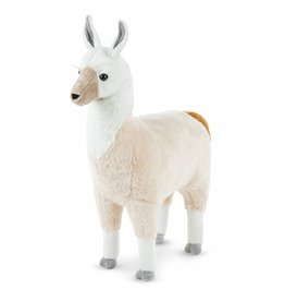 Melissa and Doug Melissa and Doug Plush Llama Lifelike Animal